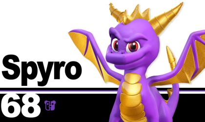 Super Smash Bros. Ultimate Spyro by PeterisBeter