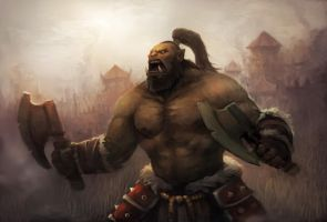 orc warrior by pc-0