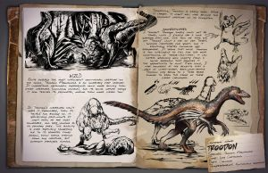 Ark: Survival Evolved Dossiers: Troodon by Dinosuarjosh