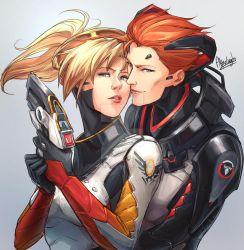 OW - Moira and Mercy by Afterlaughs