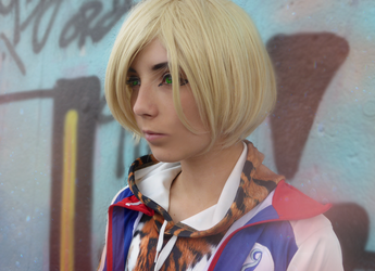 Yuri Plisetsky Cosplay 2 /// YURI ON ICE by betweenmyface