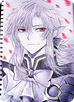 Owari no Seraph - Ferid Bathory by M-K-1