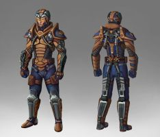 Super Soldier Concept by Saver-Blade