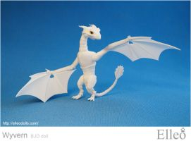 Wyvern bjd dragon 17 by leo3dmodels