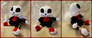Underfell San's Chibi Plush by The-Plushatiers