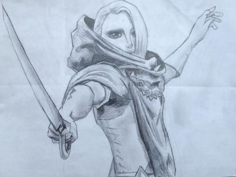 Demon Lord Ghirahim by AmosZZ