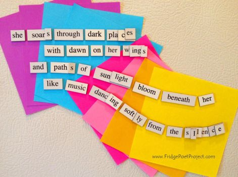 The Daily Magnet #109 by FridgePoetProject