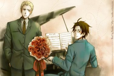 Hetalia - Piano by sdPink