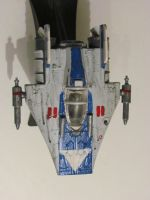 concept A-wing by SpudaFett
