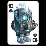 Astounding! - 10 of clubs by handtoeye