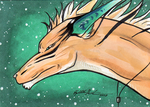 Stars ACEO by Redwall151