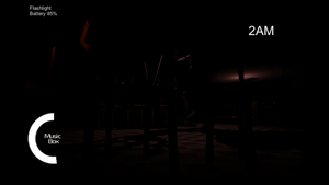 Playing FNAF Overnight2 (Night 1 ) by WinterSporkle