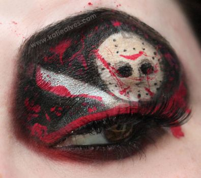 Friday the 13th Makeup by KatieAlves