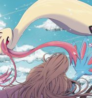 Milotic appears by Marlo-Art