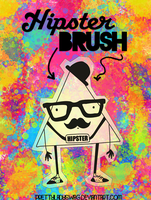 Hipster Brush by PrettyLadySwag