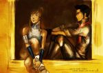 Mako and Korra by ChristyTortland