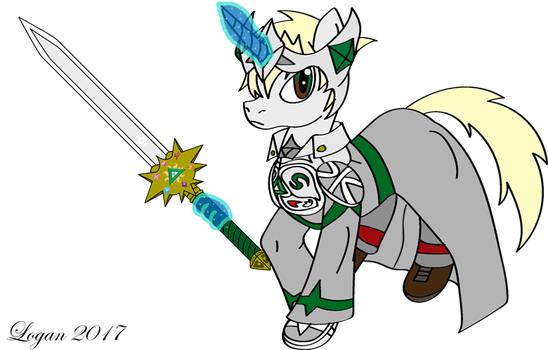 Silver Guardian - Bearer of Unity by TheHeroofHarmony