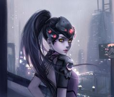 Widowmaker Overwatch by aramarii