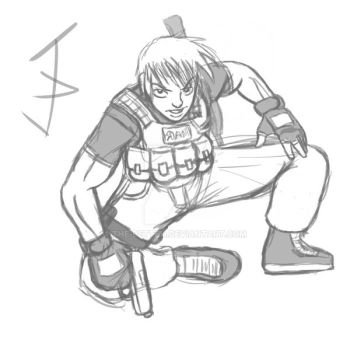 PMC Soldier Sketch by The-Betteh