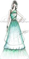 Inspired by Zuhair Murad by AmanyIbrahem