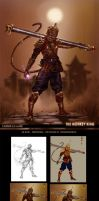 The Monkey King-design one by caananwhite