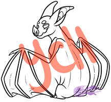 Vampire Bat YCH by Jifi-Dawg