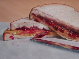 PEANUT BUTTER JELLY SANDWICH 2 by kirkkerndl