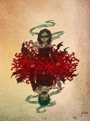 Queen and King of Coral by Glass-no-E