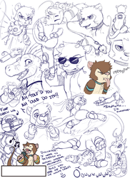 Shrew doodles dump by ClockworkShrew