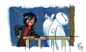 Big Hero 6 Hiro Hamada by Hyptosis