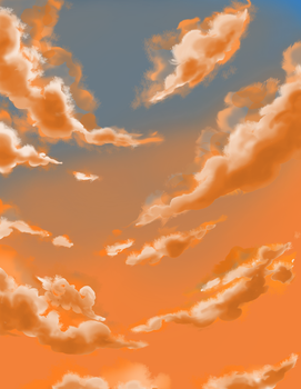 Evening Clouds? by KingofLions