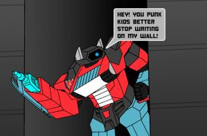 STOP WRITING ON MY WALL by Fishbug