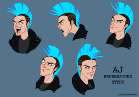AJ expression study by faithandfreedom