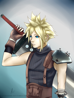 Cloud Strife by Fukyuinasshol-san