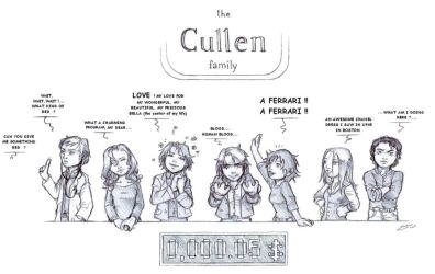 Family Feud : the Cullens by nami64