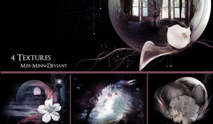 Pack of 4 Textures by VaLeNtInE-DeViAnT