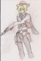 Billy the Kid of New Mexico by Azure-Arts