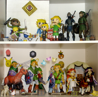 Zelda Papercraft Collection by sah24