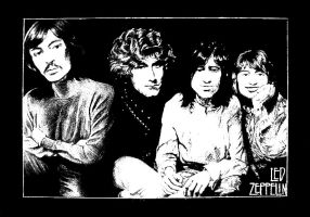 Led Zeppelin by hatefueled