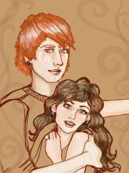 Ron and Hermione II by Merrick2682