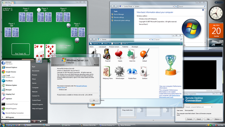Windows Server 2008 R1 As a Client OS (Vista) by a11ryanc