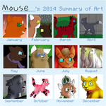 Art Summary 2014 by Its-Mousepelt