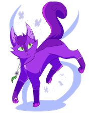 Art Fight attack #1 - MistyMuffin by Bluesunrisecat