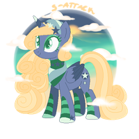 Beach Vacation Pony {Auction - Closed} by S-Adopts