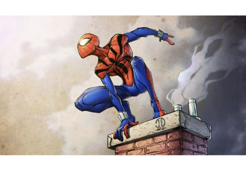 Spidey colors by spiderfan2099 by JoeyVazquez
