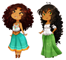 .:APH:. my tiny queens by kamillyanna