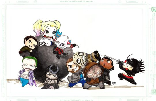 Suicide Squad by orphanshadow
