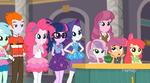 MLP Equestria Girls  School of Rock Moments 2 by Wakko2010