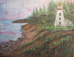 Cape Bear Lighthouse by PEISeaChange