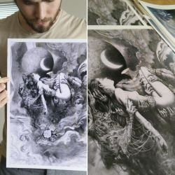 Hands - Prints for sale by Miles-Johnston